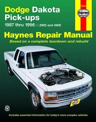 Dodge Dakota Pick-up Haynes Repair Manual 1987-1996