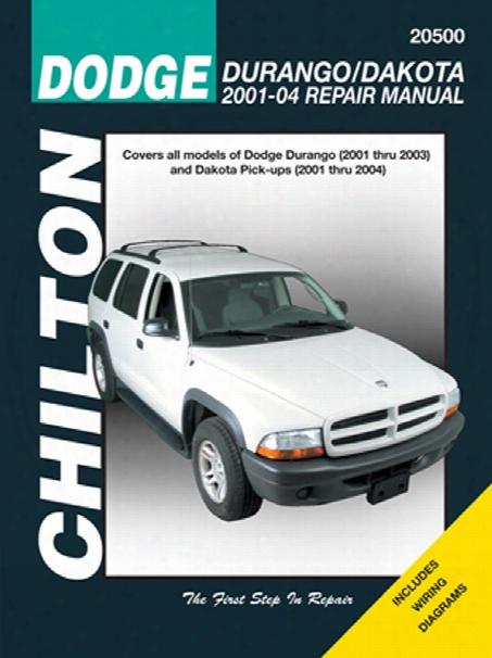 Dodge Durango & Dakota Chilton Repair Manual 2001-2004