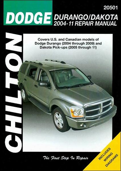 Dodge Durango & Dakota Chilton Repair Manual 2004-2011