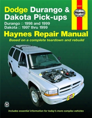 Dodge Durango &ampamp; Dakota Haynes Repair Manual 1997-1999