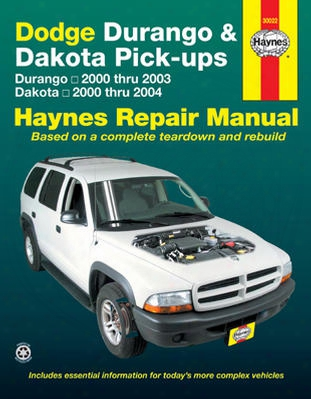 Dodge Durango & Dakota Haynes Repair Manual 2000-2004