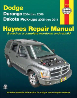 Dodge Durango & Dakota Haynes Repair Manual 2004-2011