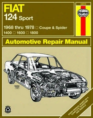 Fiat 124 Sport Coupe & Spider Haynes Repair Manual 1968-1978