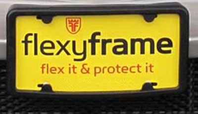 Flexyframe License Plate Frame & Bumper Protector