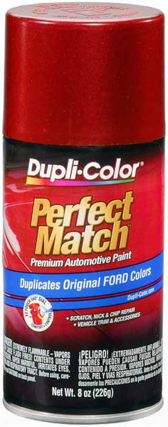 Ford & Lincoln Metallic Electric Currant Red Auto Spray Paint - Eg 1990-1997