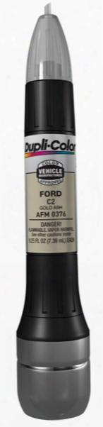 Ford & Mazda Gold Ash All-in-1 Scratch Fix Pen - C2 2002-2007