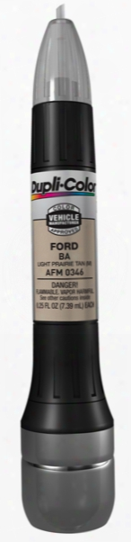 Ford & Mazda Metallic Light Prairie Tan All-in-1 Scratch Fix Pen - Ba 1997-1999
