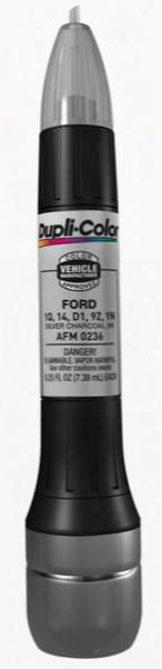 Ford & Mazda Metallic Silver Charcoal All-in-1 Scratch Fix Pen - 1q D1 9z Yn 1983-2011