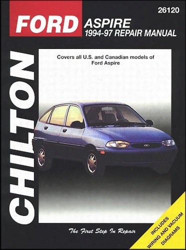 Ford Aspire 1994-97 Chilton Manual