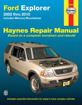 Ford Explorer & Mercury Mountaineer Haynes Repair Manual 2002-2010