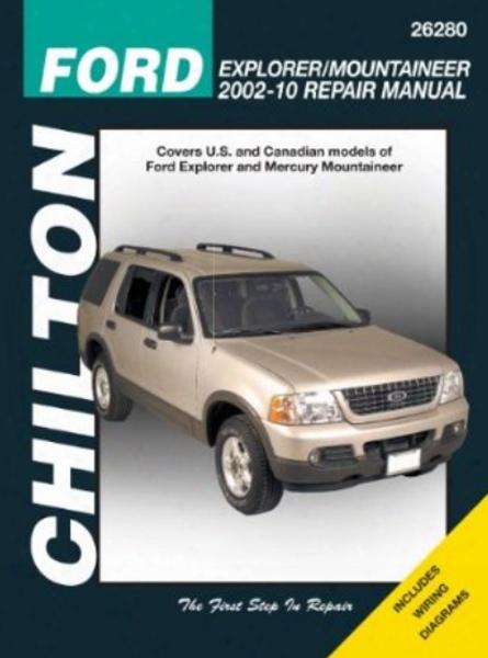 Ford Explorer/mercury Mountaineer Chilton Manual 2002-2010
