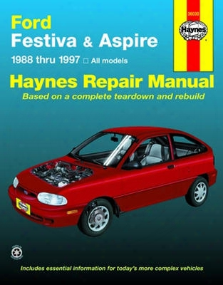Ford Festiva & Ford Aspire Haynes Repair Manual 1988-1997
