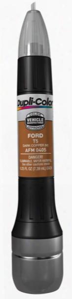 Ford Metallic Dark Copper All-in-1 Scratch Fix Pen - T5 2005-2010