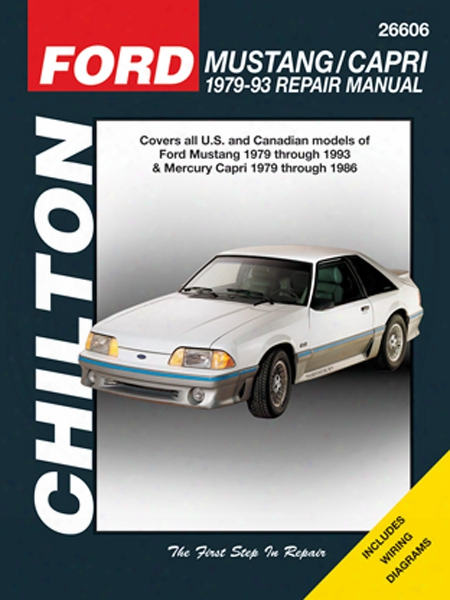 Ford Mustang & Capri Chilton Manual 1979-93