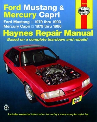 Ford Mustang & Mercury Capri Haynes Repair Manual 1979-1993