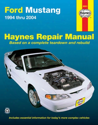 Ford Mustang Haynes Repair Manual 1994-2004