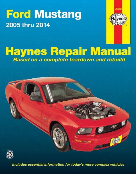 Ford Mustang Haynes Repair Manual 2005-2014