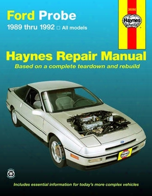 Ford Probe Haynes Repair Manual 1989-1992