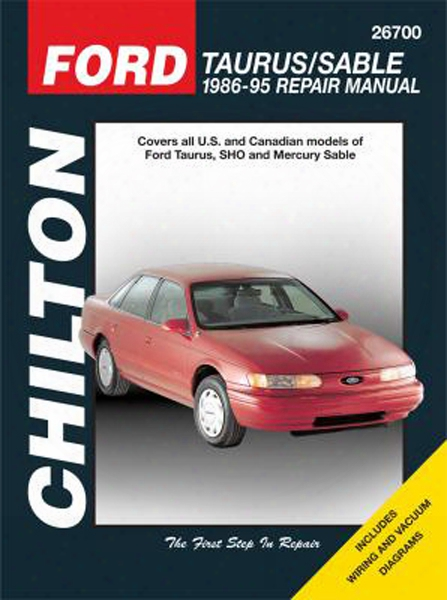 Ford Taurus & Mercury Sable Chilton Repair Manual 1986-1995