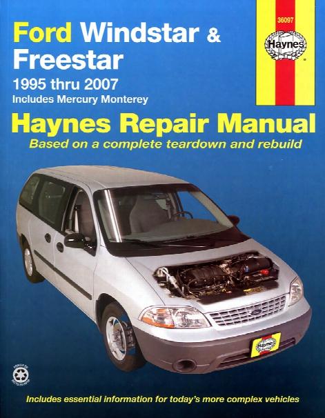 Ford Windstar Freestar & Mercury Monterey Haynes Repair Manual 1995-2007
