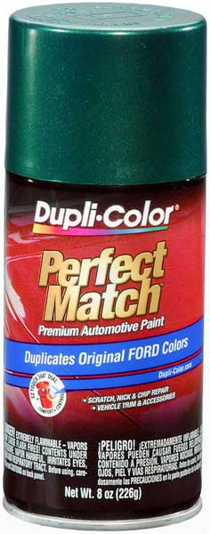 Ford/lincoln Metallic Amazon Green Auto Spray Paint -su 1999-2004
