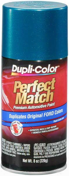 Ford/lincoln Metallic Cayman Green Auto Spray Paint -da 1991-1997