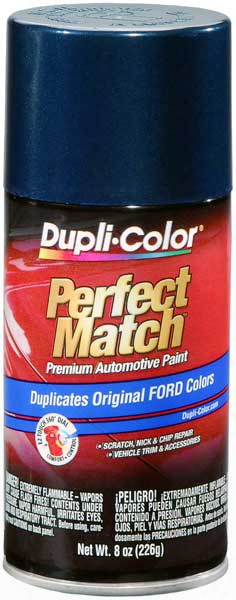 Ford/lincoln Metallic Dark Blue Auto Spray Paint -3l 1979-1986