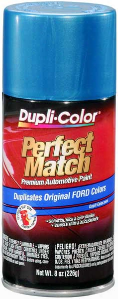 Ford/lincoln Metallic Medium Blue Auto Spray Paint - 3p 1982-1984
