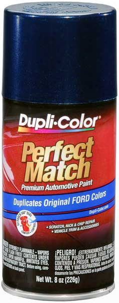 Ford/lincoln Metallic Twilight Blue Auto Spray Paint - 7f Mk 1998-2004