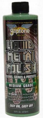 Gliptone Medium Grade Liquid Metal Polish 16 Oz