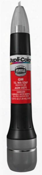 Gm & Hummer Metallic Redfire All-in-1 Scratch Fix Pen - 72 526f 1999-2005