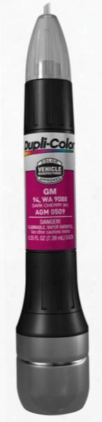 Gm & Isuzu Metallic Dark Cherry All-in-1 Scratch Fix Pen - 94 9088 1990-2006