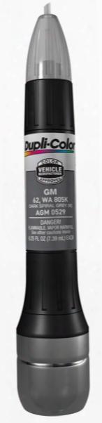 Gm & Isuzu Metallic Dark Spiral Gray All-in-1 Scratch Fix Pen - 62 805k 2003-2008