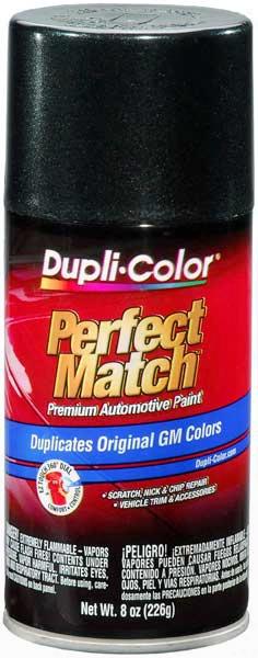 Gm & Isuzu Metallic Dark Spiral Gray Auto Spray Paint - 62 805k 2003-2008