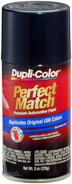 Gm & Saturn Metallic Dark Ming Blue Auto Spray Paint - 25 2002-2014