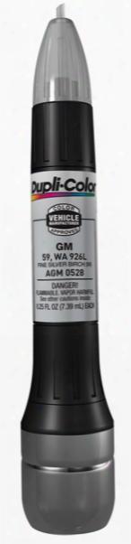Gm Hummer & Isuzu Metallic Fine Silver Birch All-in-1 Scratch Fix Pen - 59 926l 2004-2009
