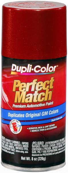 Gm Metallic Autumn Maple Auto Spray Paint -89 1983-1991