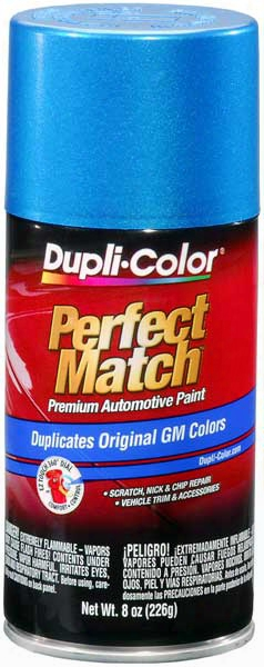 Gm Metallic Bahama Blue Auto Spray Paint -22 1991-1995