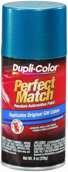 Gm Metallic Bright Aqua Auto Spray Paint - R78p 1992-1998