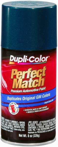Gm Metallic Emerald Green Auto Spray Paint - 43 1996-2000