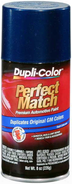Gm Metallic Indigo Blue Auto Spray Paint - 39 2001-2005