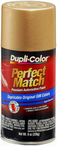 Gm Metallic Light Chestnut Auto Spray Paint - 58 1985-1988