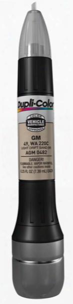 Gm Metallic Light Drift Sand All-in-1 Scratch Fix Pen - 49 220c 1996-2005