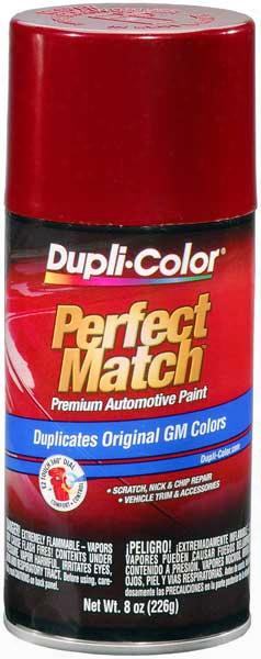 Gm Metallic Medium Garnet Red Auto Spray Paint - 72 1987-1998