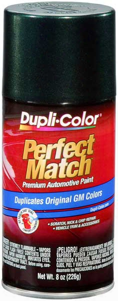 Gm Metallic Medium Green Auto Spray Paint - 45 1992-2014