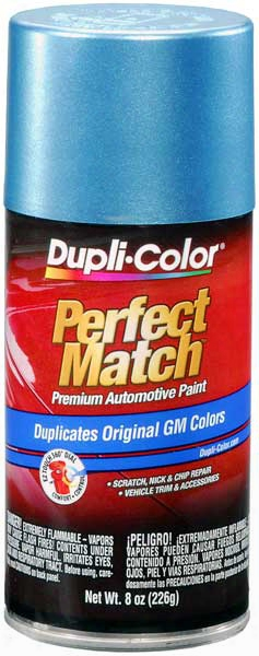 Gm Metallic Medium Maui Blue Auto Spray Paint - 23 1988-1993