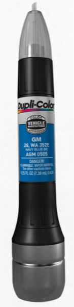 Gm Metallic Navy Blue All-in-1 Scratch Fix Pen - 28 352e/353e 1998-2004