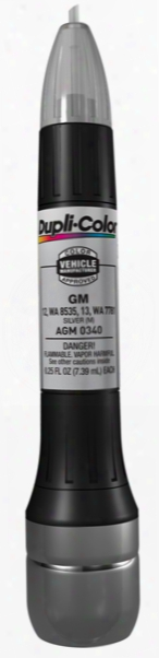 Gm Metallic Silver All-in-1 Scratch Fix Pen - 13s 9021 1985-1991