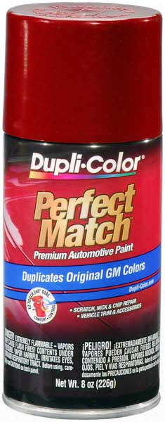 Gm/isuzu Metallic Dark Cherry Auto Spray Paint -94/9088 1990-2006