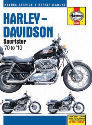 Harley-davidson Sportsters Haynes Repair Manual 1970-2010